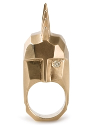 Kelly Wearstler 'Head Trip' Ring Metallic