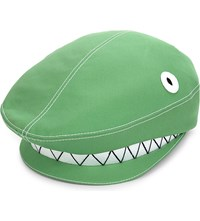 Thom Browne Shark Flat Cap Lt Green
