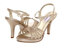 Touch Ups Leah Champagne Glitter High Heels Gold