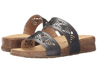 Haflinger Grace Graphite Women's Sandals Gray