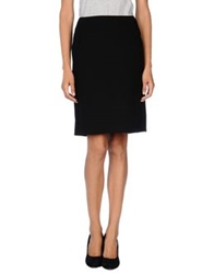 Strenesse Gabriele Strehle Knee Length Skirts Black