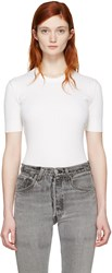 Courreges White Classic Pullover