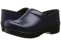Dansko Professional Dark Blue Box Clog Shoes Navy