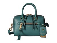 Marc Jacobs Recruit Small Bauletto Hazy Blue Satchel Handbags