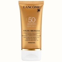 Lancome Soleil Bronzer Protective Face Cream Spf 50 50Ml