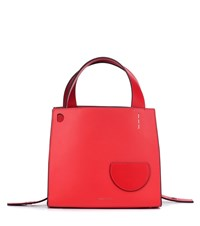 Danse Lente Margot Leather Tote Red