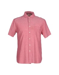 Ymc You Must Create Shirts Coral