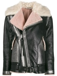 Coach Oversized Shearling Aviator Jacket 60