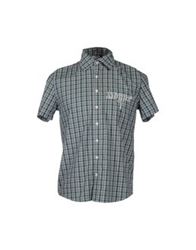 Blomor Short Sleeve Shirts Green