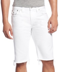 True Religion Relaxed Shorts Optic White