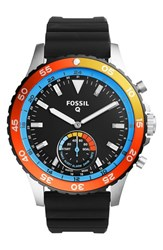 Fossil Q Crewmaster Silicone Strap Smart Watch 46Mm