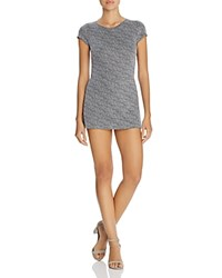 Necessary Objects Tweed Skort Romper Compare At 108 Black Gray