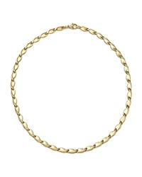 Bloomingdale's 14K Yellow Gold Interlocking Leaf Necklace 18 100 Exclusive