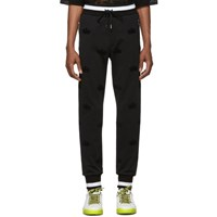Dolce And Gabbana Black Crowns Lounge Pants