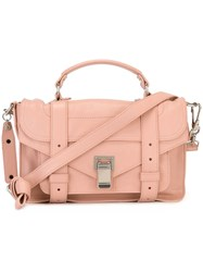 Proenza Schouler Tiny 'Ps1' Satchel Pink And Purple