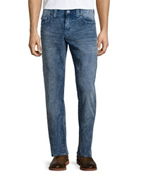 True Religion Geno Acid Wash Denim Jeans Blue