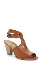 Paul Green Women's Madonna Ankle Strap Sandal Cuoio Leather