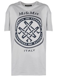 Mr And Mrs Italy Oversized Logo T Shirt 60