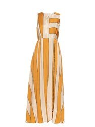 Sportmax Fachiro Dress Yellow Print