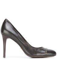 Lauren Ralph Lauren Almond Toe Pumps Brown