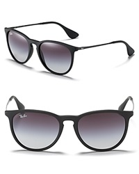 Ray Ban Round Keyhole Sunglasses Black