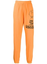 Marc Jacobs Printed Track Pants Orange