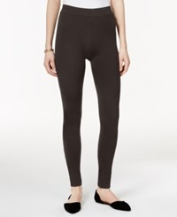 Styleandco. Style And Co. Stretch Leggings Only At Macy's Espresso Brown