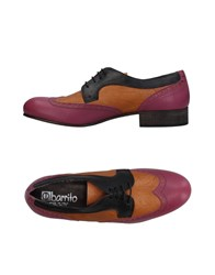Ebarrito Lace Up Shoes Pastel Pink