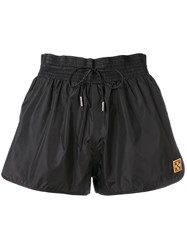 Off White Track Short Shorts Black