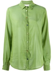 Forte Forte Sheer Contrasting Buttons Shirt 60
