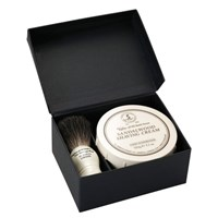 Taylor Of Old Bond Street Pure Badger And Sandalwood Shaving Cream Set