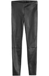Jitrois Cropped Leather Leggings