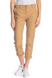 Current Elliott The Confidant Polka Dot Pants Barley Polkadot