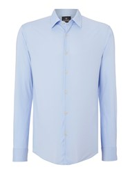 Scotch And Soda Classic Long Sleeve Shirt Sky