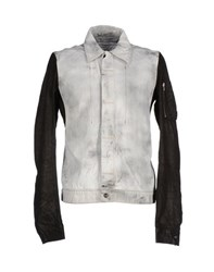 Drkshdw By Rick Owens Denim Denim Outerwear Men White