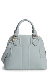 Sole Society Dome Satchel Blue Dusty Blue