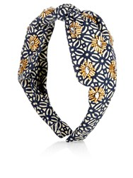 Accessorize Embellished Knot Alice Band