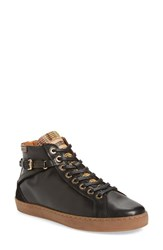 Pikolinos Women's 'Yorkville' High Top Sneaker Black Leather