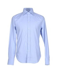 9.2 By Carlo Chionna Shirts Sky Blue