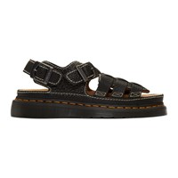 Dr. Martens Black 8092 Arc Sandals