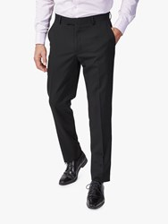 Richard James Mayfair Wool Slim Suit Trousers Black