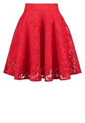 New Look Aline Skirt Bright Red