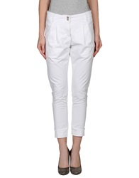 Alpha Studio Casual Pants White