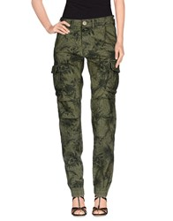 Gas Jeans Gas Denim Denim Trousers Women Military Green