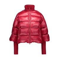 Red Valentino Winter Coat Lacca Red