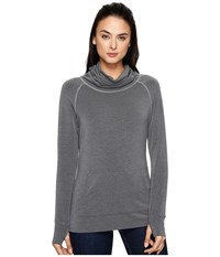 Kuhl Alea Long Sleeve Smoke Women's Long Sleeve Pullover Gray
