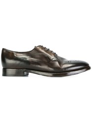 Silvano Sassetti Front Detail Brogues Brown
