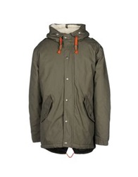 Minimum Jackets Military Green