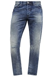 Tom Tailor Denim Atwood Straight Leg Jeans Mid Stone Wash Denim Blue