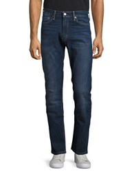 Levi's 513 Slim Straight Dark Wash Jeans Dark Blue